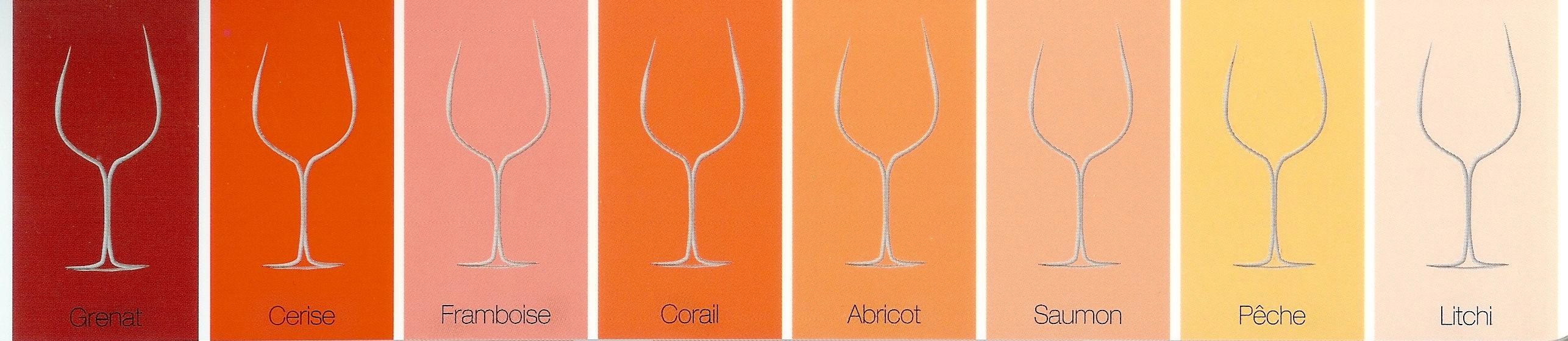 Comment Faire La Couleur Saumon les nuanciers des vins rosés - le petit ballon